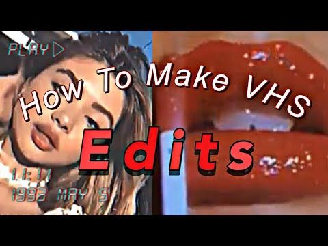 How To Make Vhs Edits On Iphone Youtube Aesthetic Editing Apps Photo Editing Apps Android Vhs
