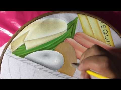 Pintura En Tela Canasta Basica 3 Con Cony Pintura En Tela Videos De Pintura Disenos De Unas