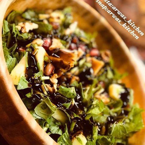 اروى أروى Arwas Kitchen Arwa مقبلات سلطات سلطة اناناس رمضان كريم رمضان رمضان يجمعنا الرياض الاردن السعودية Salad C Vegetable Pizza Food Kitchen