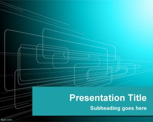 Shapes Technology PowerPoint Template is a free PowerPoint ...