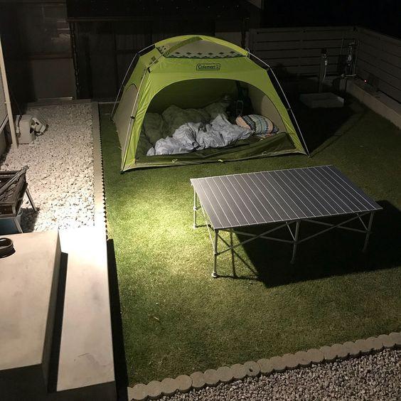 庭キャンプ/庭/芝生のインテリア実例 - 2017-11-04 22:29:25 | RoomClip (ルームクリップ)