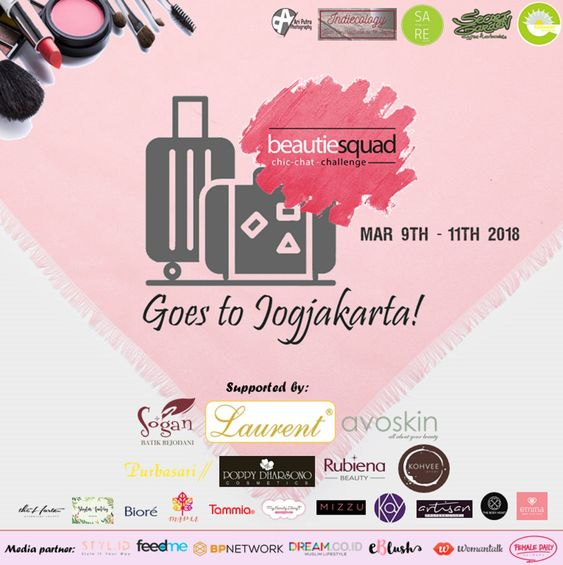 beautiesquad goes to jogja x blossomshine