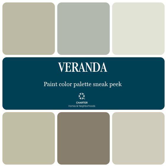 Transitional Paint Color Palette Color Palette Monday 3: Models, Warm And Paint Colors On Pinterest