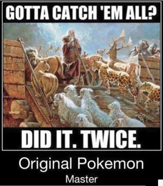 Moses The Original Pokemaster Christian Meme