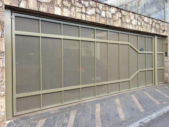 Portões de Ferro para Garagem