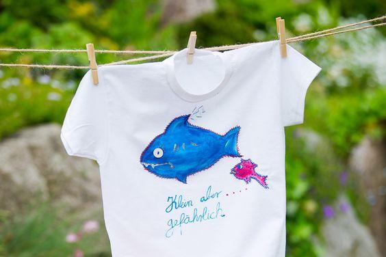 Kostenlose Anleitung: T-Shirts besticken und bemalen - kinitti.de