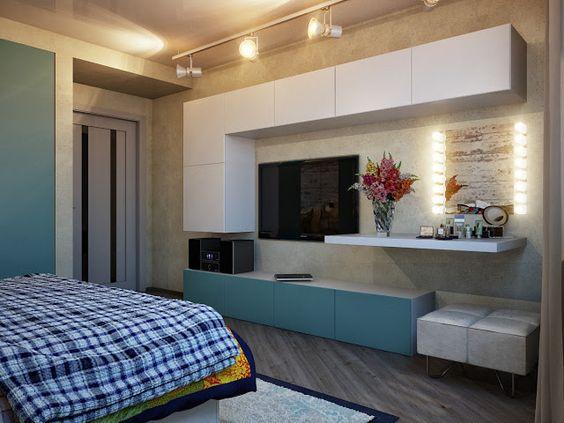 Quarto de Loft  Dormitório  Pinterest  Madeira, Decoração e Ems