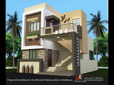 Small House Plan And 3D Elevations Details Small House Design | House Design With Stairs In Front | Victorian | Second Floor | Colour | Residential | Low Cost 2 Bhk House