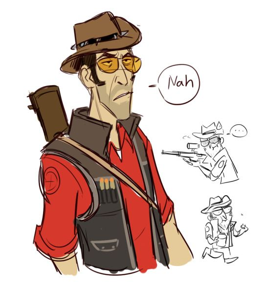 Sketches And Stuff I Think Is Cool Team Fortress 2 Art Team Fortress 2 Fanart Team Fortress 2