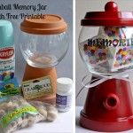 A Plum 'affordable' gift- Gumball Memory Jar
