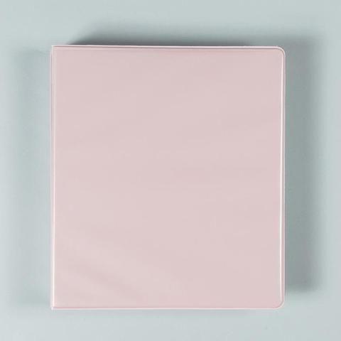 1 Inch Binder Pastel Pink School Binder Cute School Binders Binder Organization School