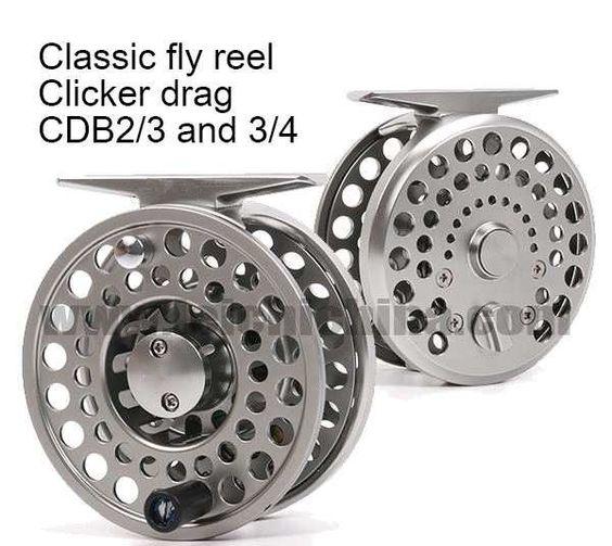 Classic Clicker CDB Reel - Anglers Addiction