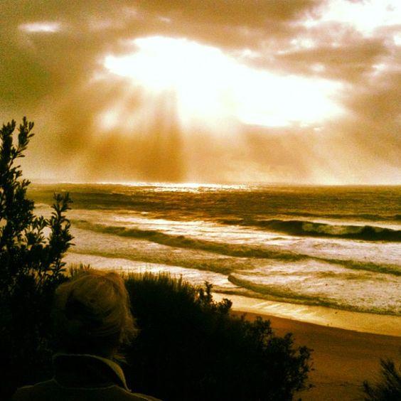 Storm surf in Sydney