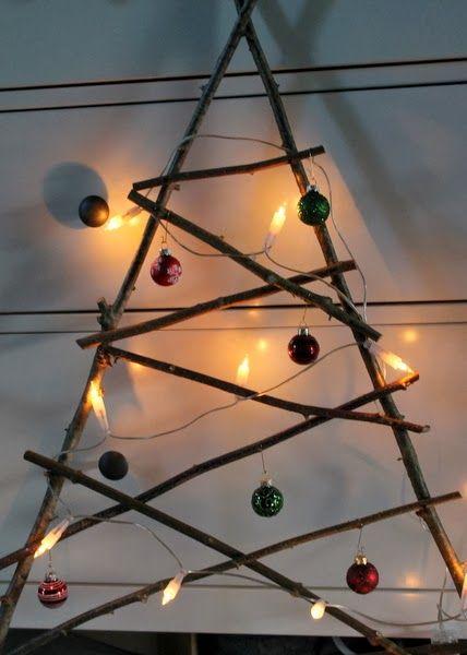 Basteln Mit Holz In Der Kita ~ Weihnachtsbäume, Bäume and Weihnachten on Pinterest