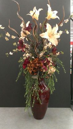 Image Result For Floral Arrangement For Tall Vase On Fireplace Flower Vase Arrangements Large Flower Arrangements Flower Vases