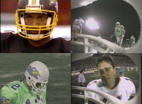 Helmet-Cam footblall 1991: