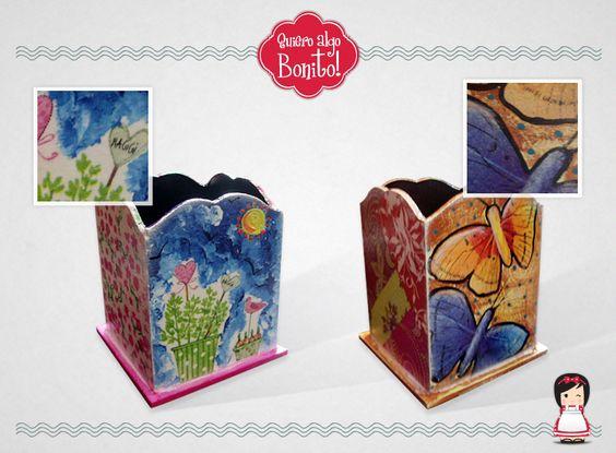 Lapiceros pintados por Quiero algo Bonito!: