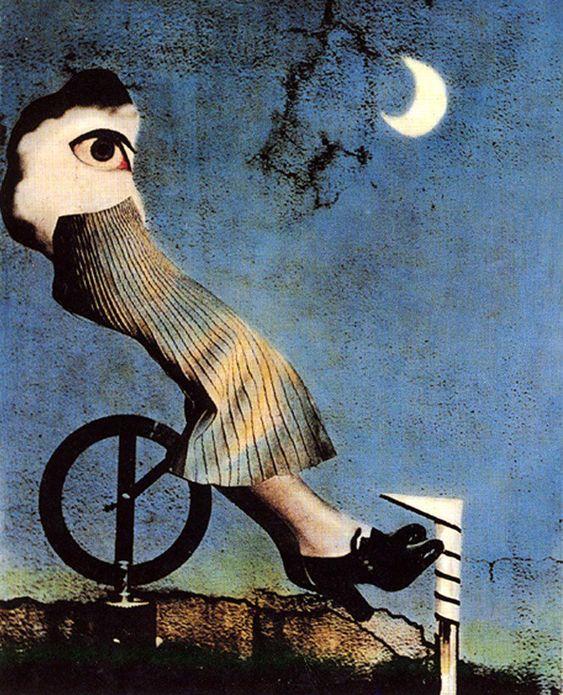 zero focus: Terushichi Hirai, Fantasy of the Moon, 1938.