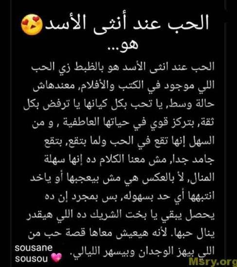 برج الاسد اليوم مميزاته وعيوبه كاملة موقع مصري Texts Emotions Company Logo