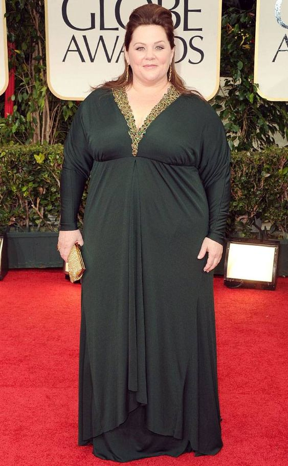 Melissa McCarthy from 2012 Golden Globes: Arrivals