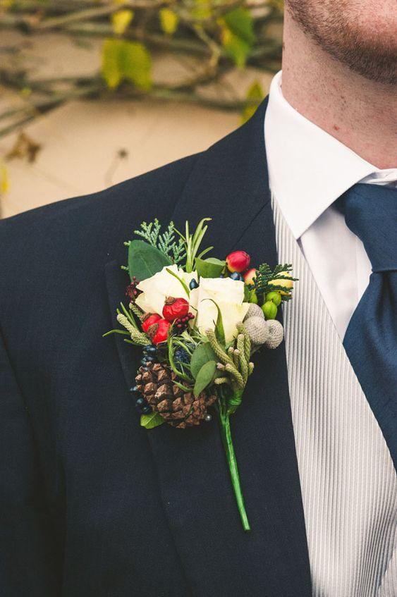 rustic winter wedding ideas (6)