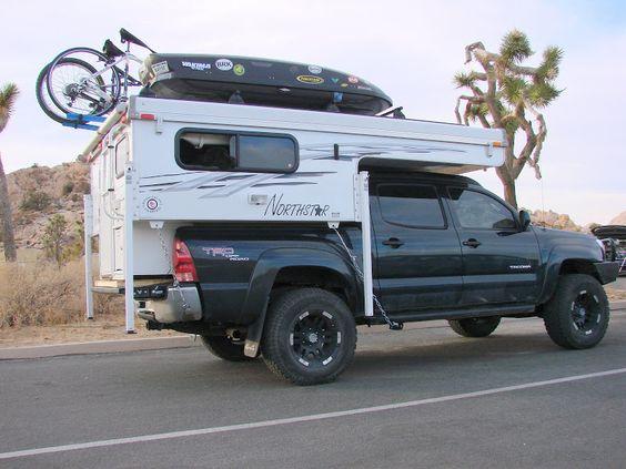 Slide In Camper For 2007 Short Bed 5ft Tacoma Camping