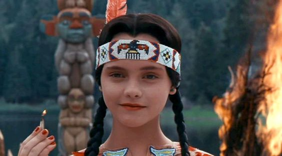 Love this picture of miss Wednesday Addams!