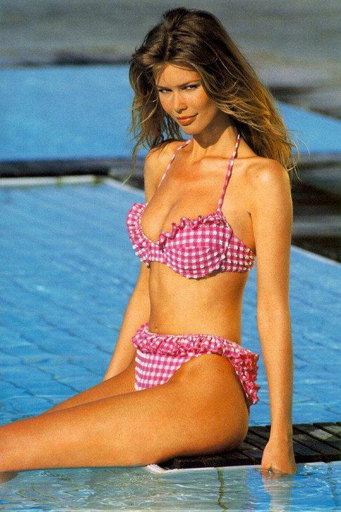 Claudia Schiffer Swimsuit | Claudia Schiffer Swimsuit Pictures Page 1