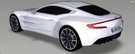 Aston Martin 3D Alias Model