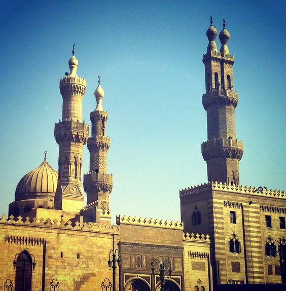 al Azhar mosque .[Taken by me]