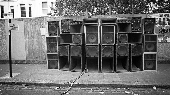 Sound System beim Notting Hill Carnival in London (c) Brian David Stevens