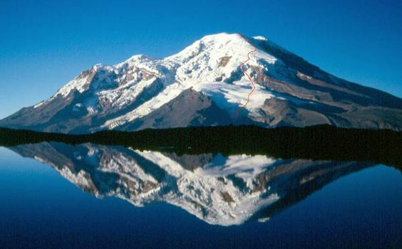 """Chimborazo - because the mountain lies on the equatorial bulge, the summit is the furthest point away from the center of the earth. Definitely on the """"to climb"""" list."""