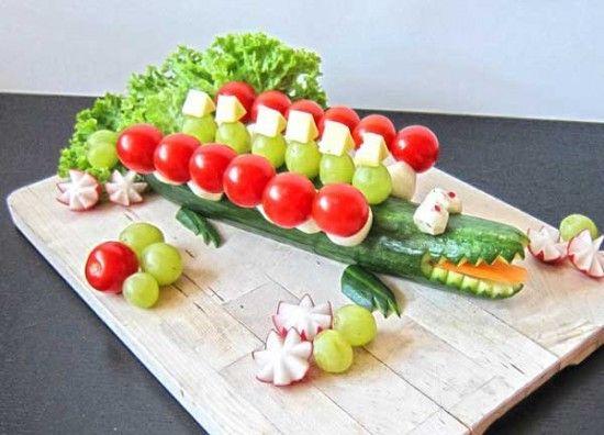 aperitivos de cumpleaños para niños