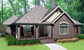 Traditional   House Plan 40036