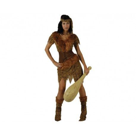 #Disfraz de #Cavernicola #Troglodita #Mujer