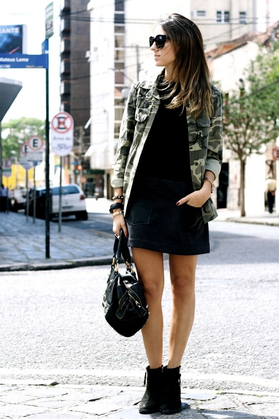 Look do Dia: Jaqueta Militar: