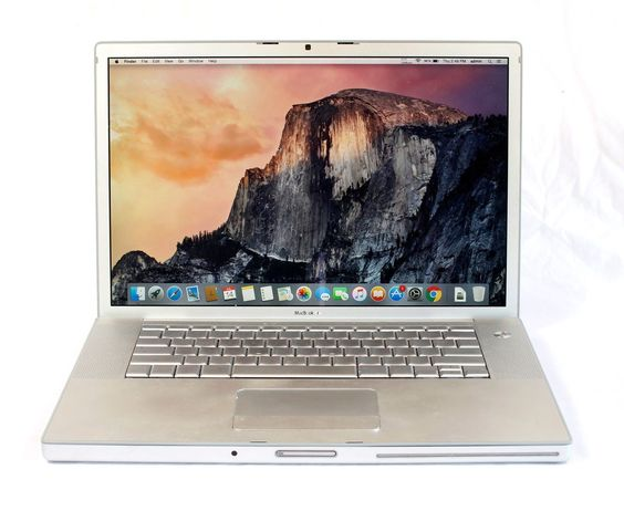 "Apple MacBook Pro A1260 15"" 41 4GB RAM 160GB HDD Yosemite 2.4GHz Core 2 Duo"