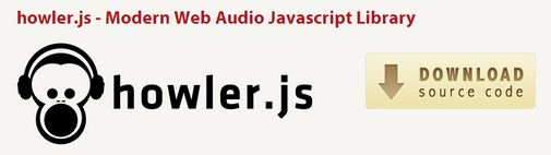 howler.js is a modern JavaScript library for web audio. The library was initially developed  for an HTML5 game engine, but can also be used for web applications.