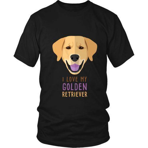 Dogs T Shirt I Love My Golden Retriever In 2020 Dogs Golden