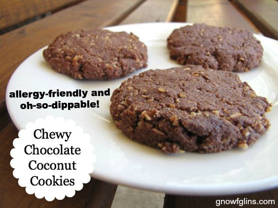 Chocolate coconut cookies, Coconut cookies and Coconut on Pinterest