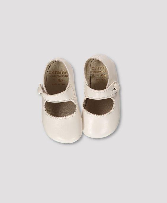 Pepe Ash White Baby Shoe, 20