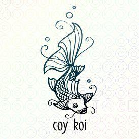 coy koi chinese cuisine logo