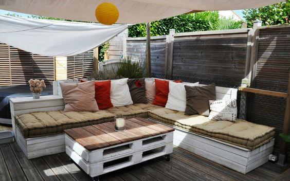 Les plus bricolées: Créez des meubles uniques avec des palettes en bois - News Loisirs: Maison, jardin - lematin.ch