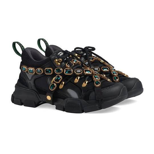 Flashtrek sneaker in Black leather