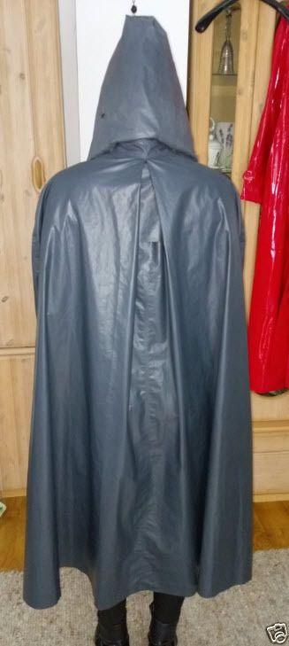 klepper damen klepper mantel kapuze kleppermantel gummimantel regenmantel 42 m. Black Bedroom Furniture Sets. Home Design Ideas