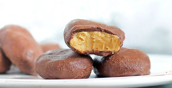peanut butter eggs - can I just say YUM?