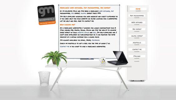 My personal website: php programmer, web designer, seo expert, web design, web development. http://www.pixael.com