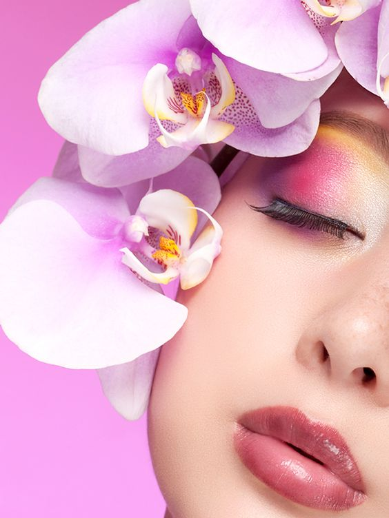 ORCHID BEAUTY | Andrea Leanne @ Benz Models | Mar 2012 on Behance