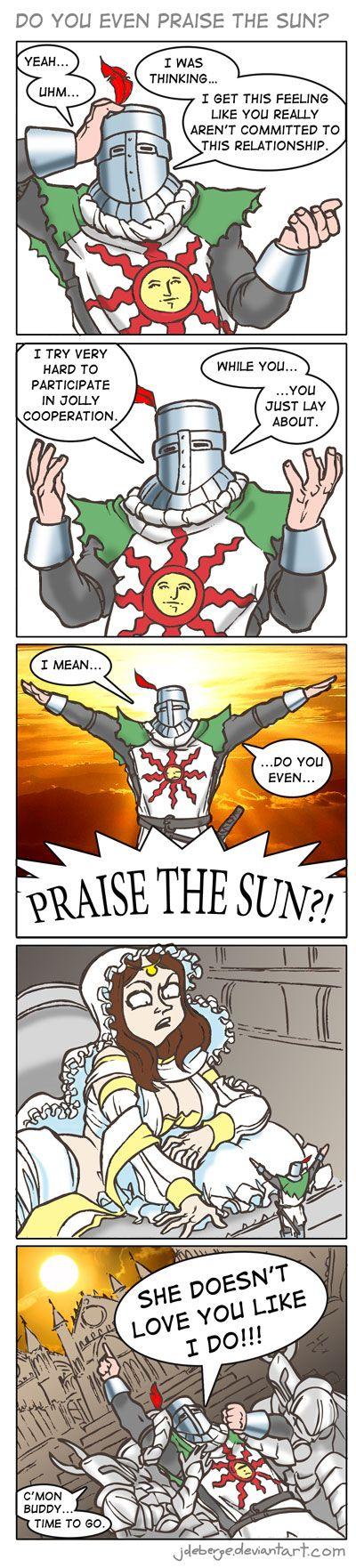 Dark Souls Comic Solaire