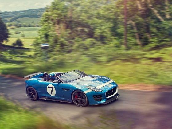 Jaguar F Type Project 7 - production version revealed